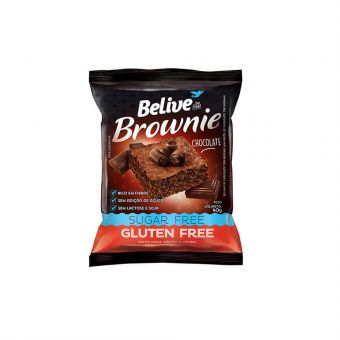 Brownie Chocolate Sem Glúten 40g - Belive