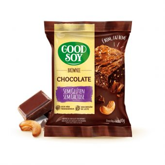 Brownie Chocolate 40G - Good Soy