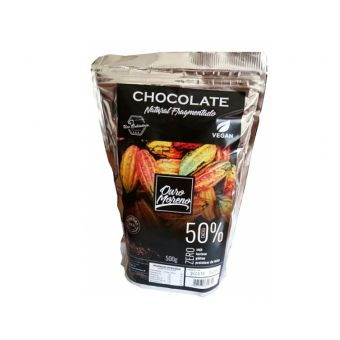 Chocolate Natural Fragmentado 50% 500G - Ouro Moreno