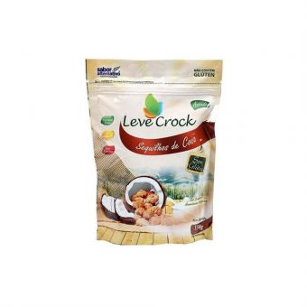 Sequilho Sabor Coco Leve Crock 150G - Sabor Alternativo