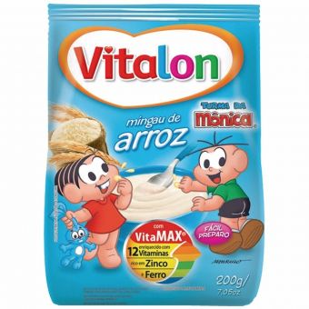 Vitalon Sabor Arroz- Cereal Infantil 200G - Wow Nutrition